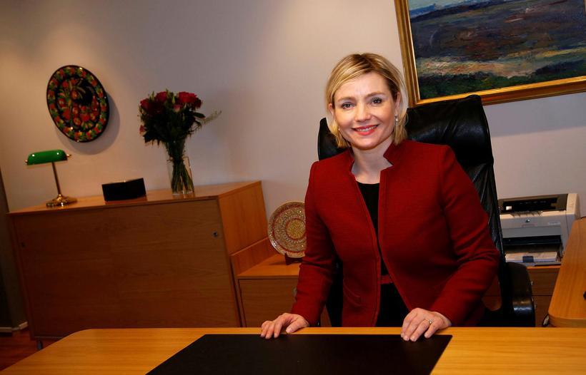 Lilja Dögg Alfreðsdóttir, Icelandic Minister for Foreign Affairs.