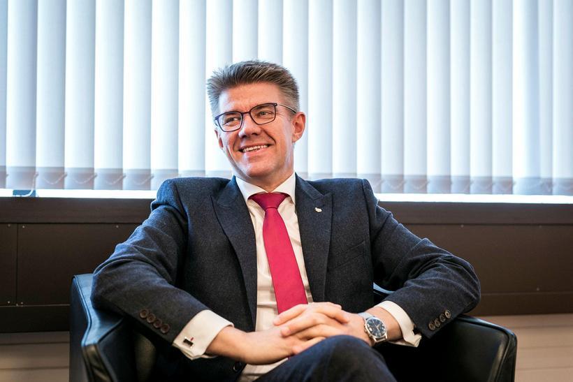 Gunnar Bragi Sveinsson, fyrrverandi sjávarútvegs- og landbúnaðarráðherra.