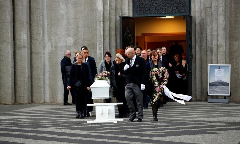 Birna's funeral took place last Friday at Hallgrimskirkja church in ...