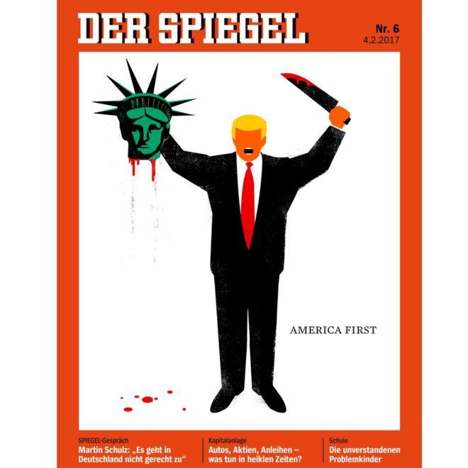 Forsíða Der Spiegel.