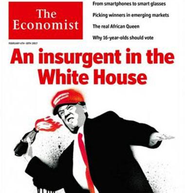 Forsíða The Economist.
