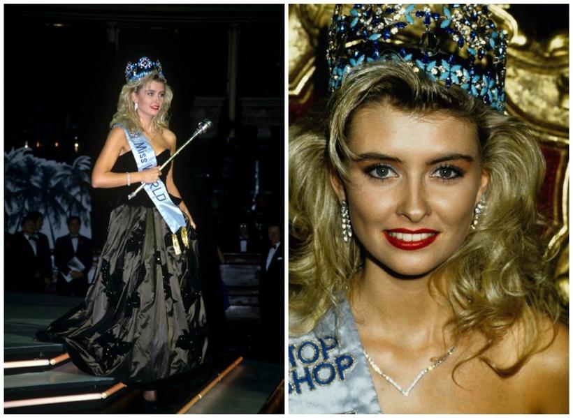 Linda Pétursdóttir was crowned Miss World in 1988.