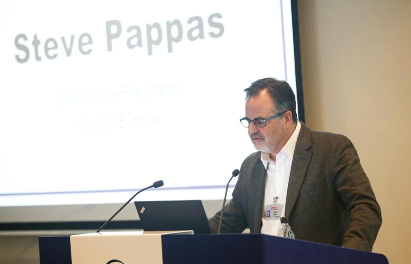 Steve Pappas, aðstoðarforstjóri Costco í Evrópu.