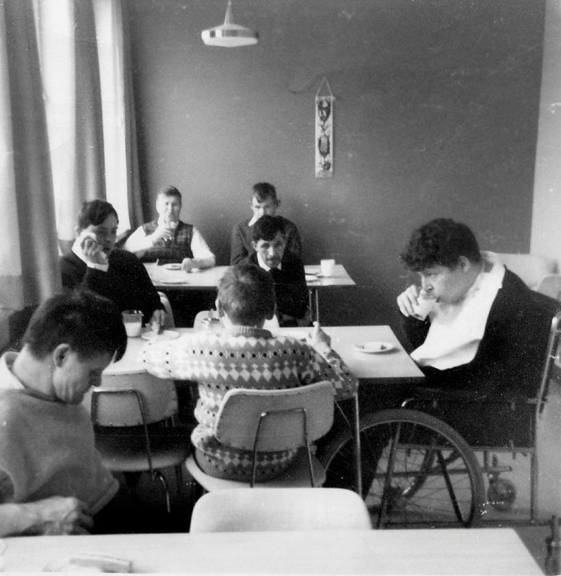 An image from the institute from the early sixties.