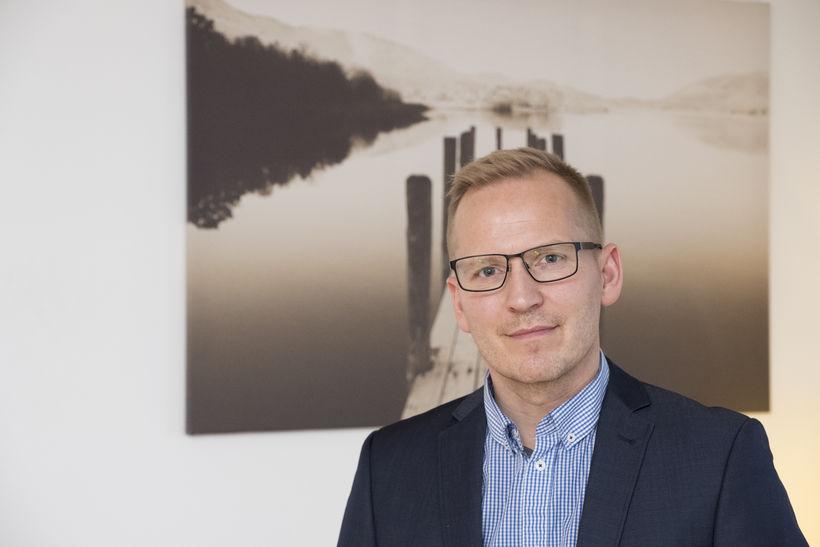 Valdimar Þór Svavarsson ráðgjafi hjá Lausninni.
