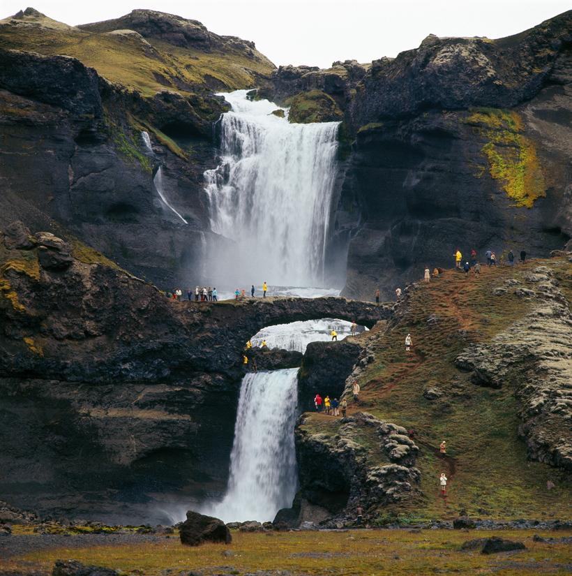 Ófærufoss in South Iceland