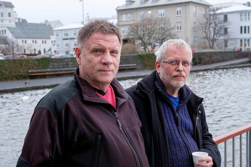 Magnús Helgi Björnsson og Þóroddur Þórarinsson störfuðu báðir á Kópavogshæli ...