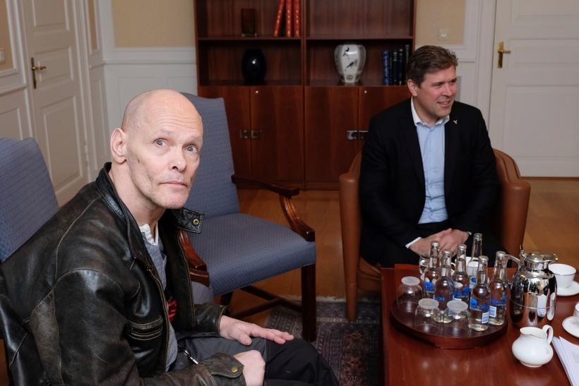 "Haraldur met with Prime Minister Bjarni Benediktsson yesterday. ""A good ..."