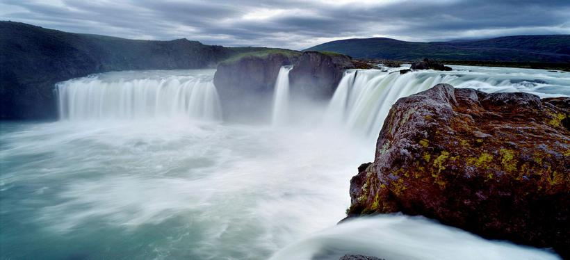 Goðafoss is located by the nr. 1 ring road.