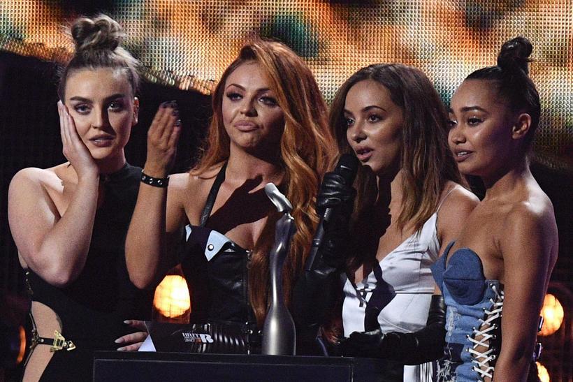 Little Mix fékk verðlaun fyrir bestu bresku smáskífuna, Shout Out …