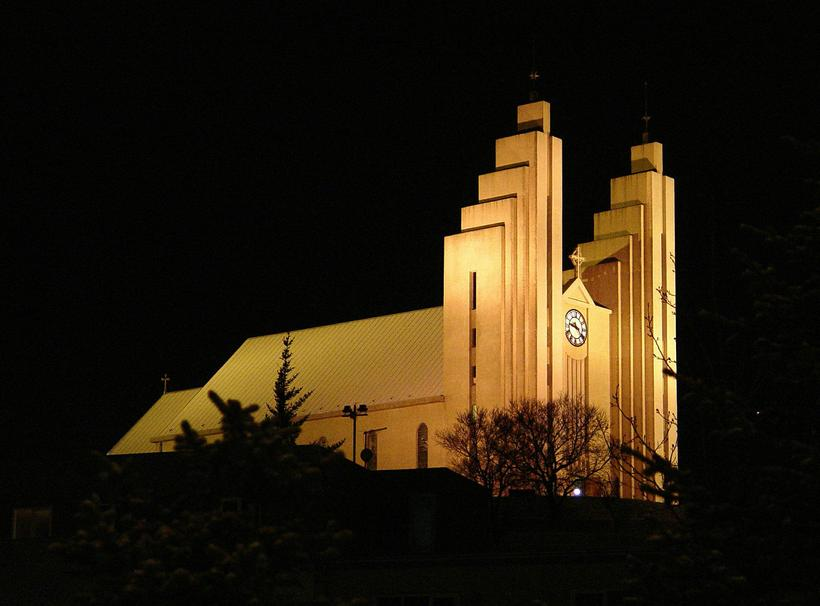 The church was built in 1940