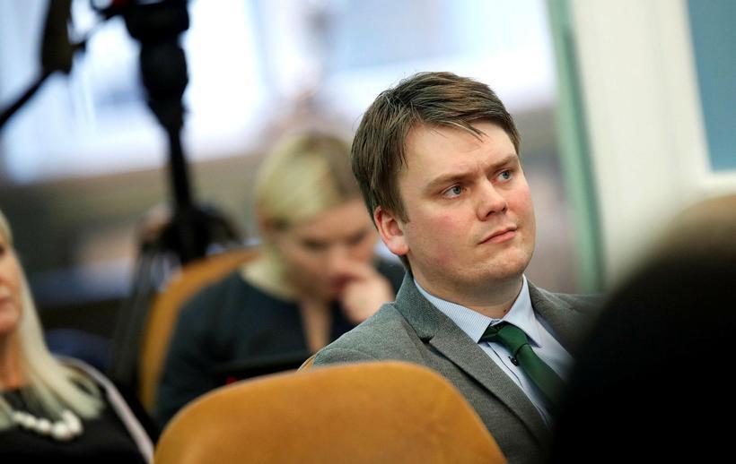 Andrés Ingi Jónsson, þingmaður utan þingflokka.