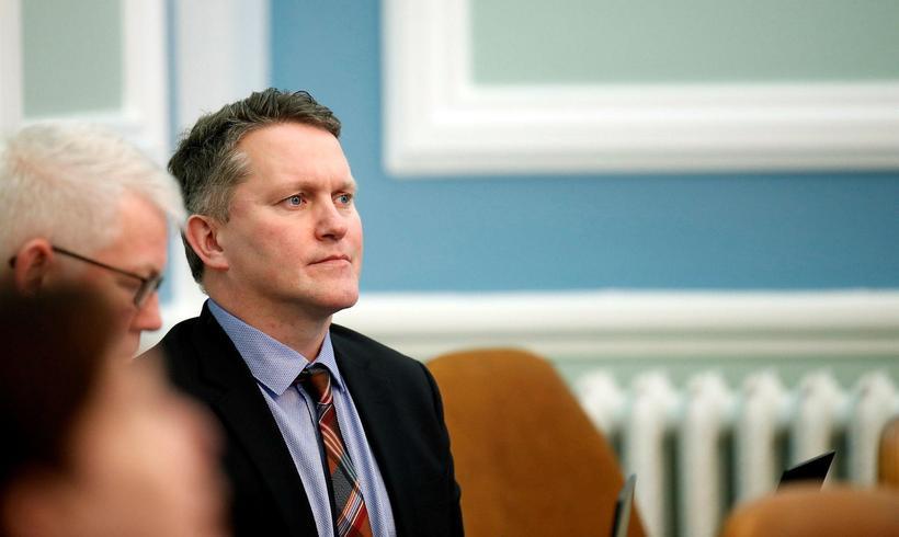 Njáll Trausti Friðbertsson, þingmaður Sjálfstæðisflokksins.