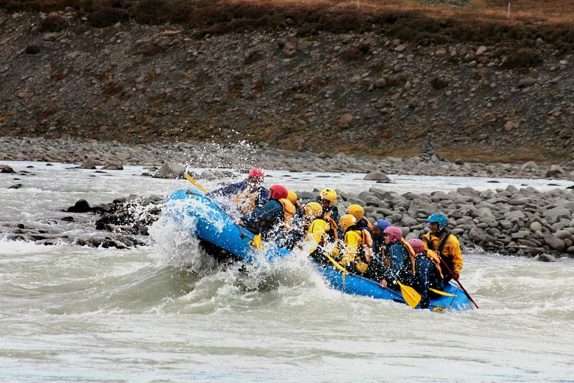There are two rivers for rafting in Skagafjörður, one is …