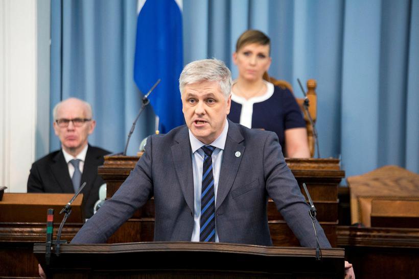 Benedikt Jóhannesson, fjármála- og efnahagsráðherra.