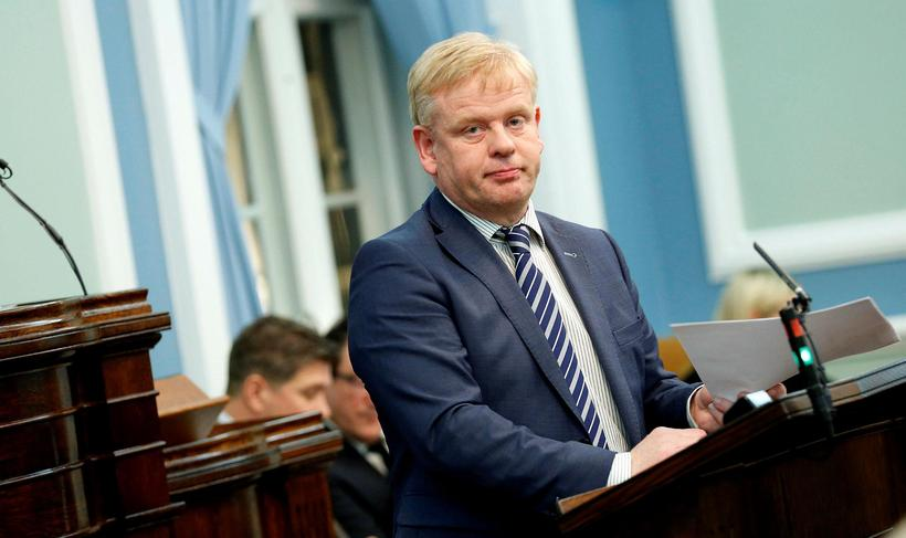 Haraldur Benediktsson, þingmaður Sjálfstæðisflokksins.