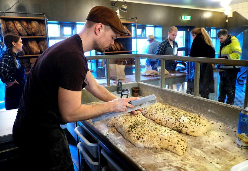 Brauð & Co is famous for its sourdough bread.