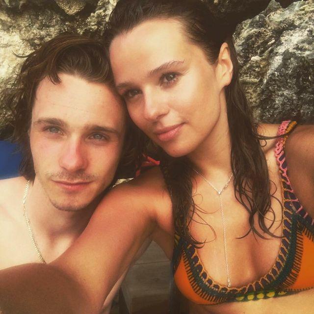 Tinna with her musician boyfriend Chilli Jesson.