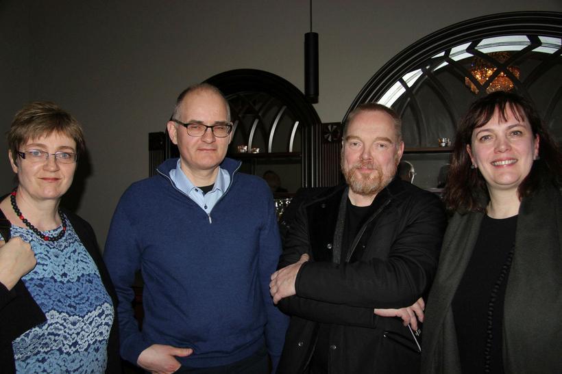 Ástríður, Jón, Torfi Hjartarson og Svandís Svavarsdóttir.