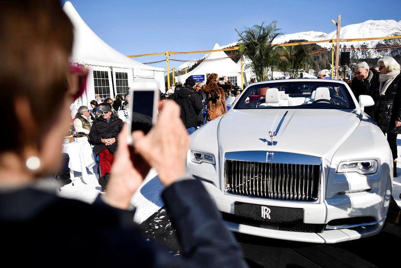 Bandaríkin eru stærsti markaðurinn fyrir Rolls Royce lúxusbíla.