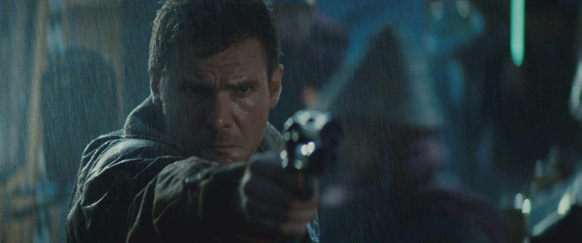 Harrison Ford as Richard Decker in the epic Blade Runner. ...