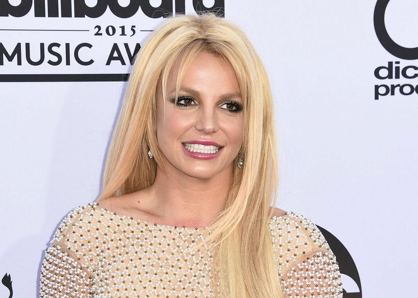 Listrænir hæfileikar Britney Spears liggja ekki bara í tónlistinni.