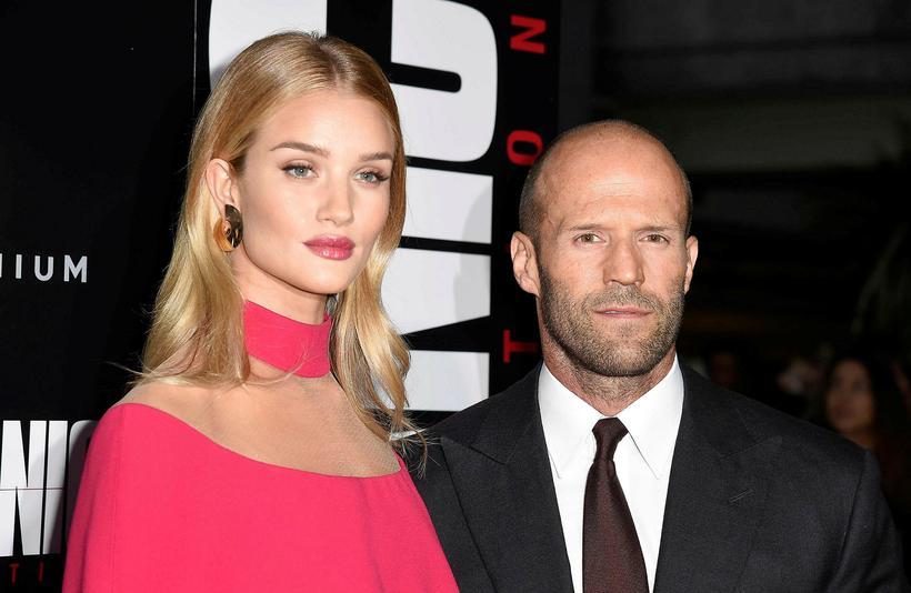 Rosie Huntington-Whiteley og Jason Statham hafa verið saman frá árinu ...