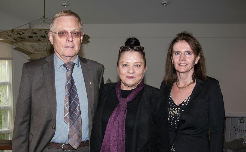 Ingimar Jóhannsson, Anna K. Jónsdóttir og Lillý Valgerður Oddsdóttir.