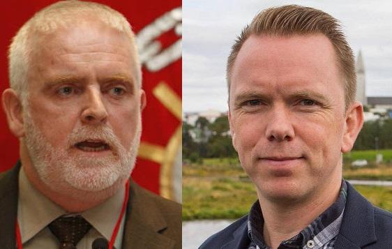 Gylfi Arnbjörnsson, forseti ASÍ, og Ragnar Þór Ingólfsson, formaður VR.