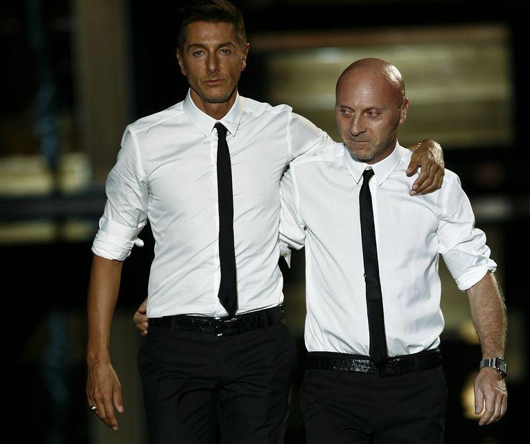 Domenico Dolce og Stefano Gabbana.