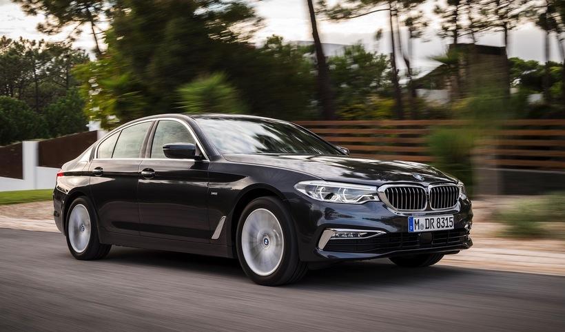Alls býður BL upp átta mismunandi útgáfur af BMW 5-Series ...