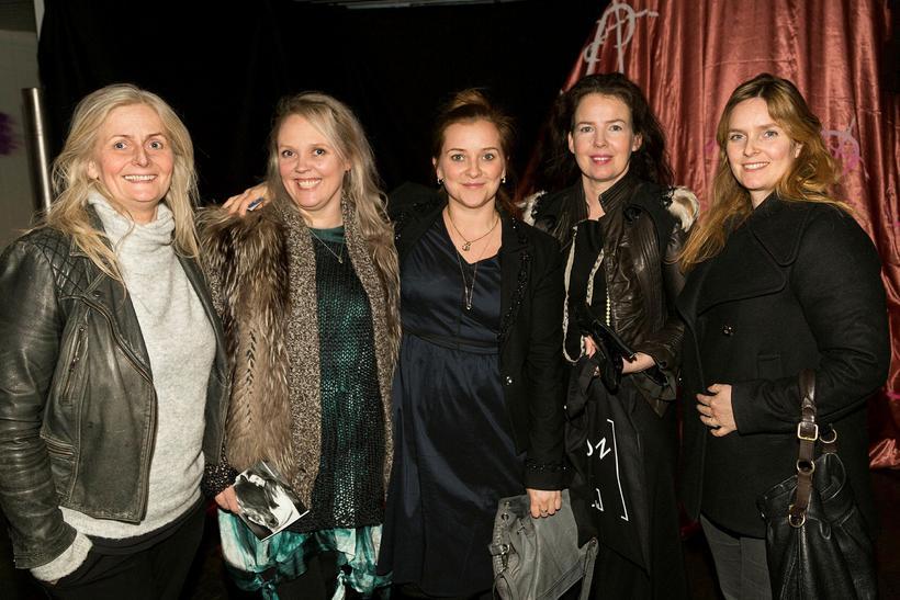Sissa, Alda B, Selma, Elín Valdís og Ragna Sara Jónsdóttir.