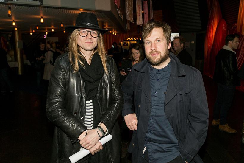 Pétur Ben og Hafsteinn Gunnar Sigurðsson. .