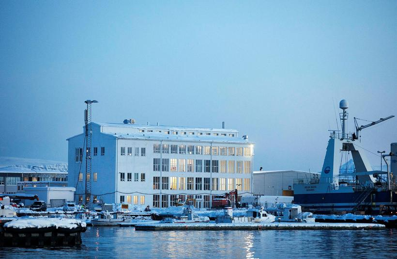 The Marshall building at Grandi harbour area in Reykjavik.