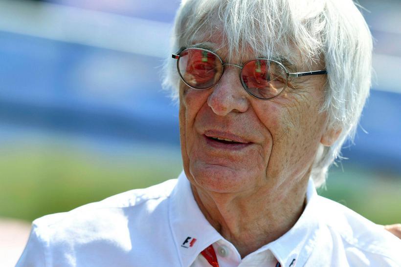 Bernie Ecclestone er horfinn af vettvangi formúlu-1.