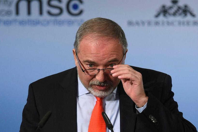 Avigdor Lieberman, varnarmálaráðherra Ísrael.