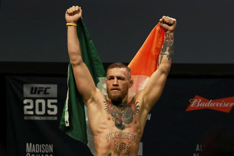 McGregor fylgdist vel með okkar manni í gær.