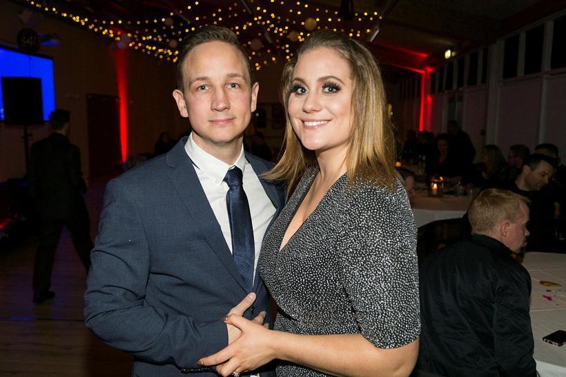 Heiðar Austmann og Stefanie Esther Egilsdóttir.