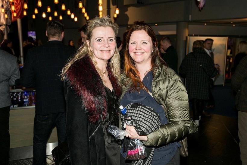 Ásta Laufey Aðalsteinsdóttir og Gígja Gunnarsdóttir.
