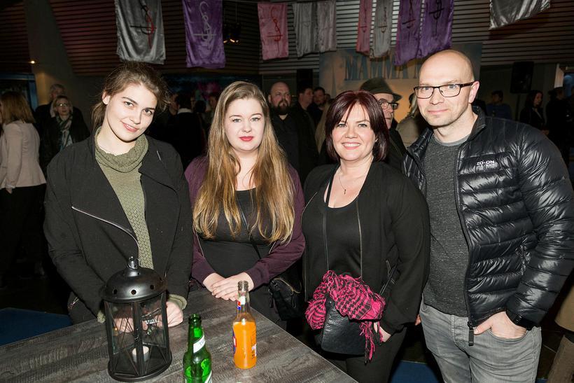 Sóley Bjarnadóttir, Emilía Hafsteinsdóttir, Drífa Guðmundsdóttir og Guðlaugur Gunnólfsson.