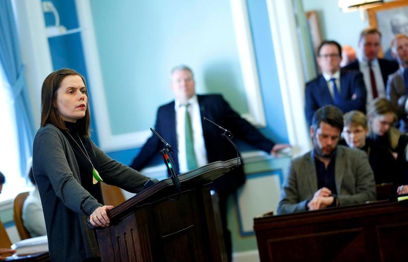 Katrín Jakobsdóttir, þingmaður Vinstri grænna