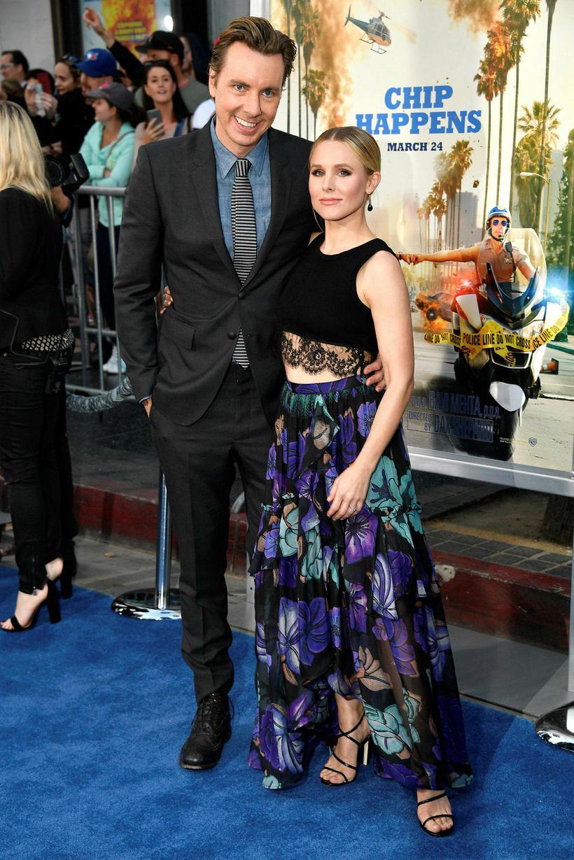 Dax Shepard og Kristen Bell.
