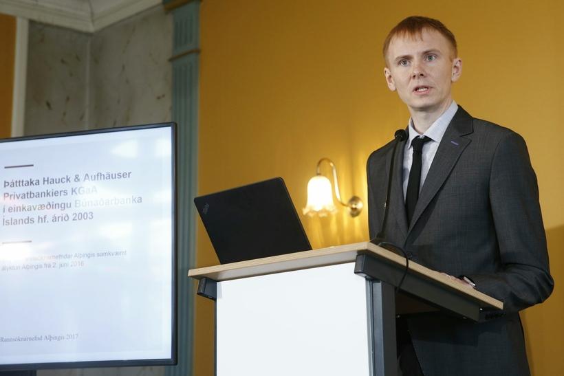 Kjartan Bjarni Björgvinsson.