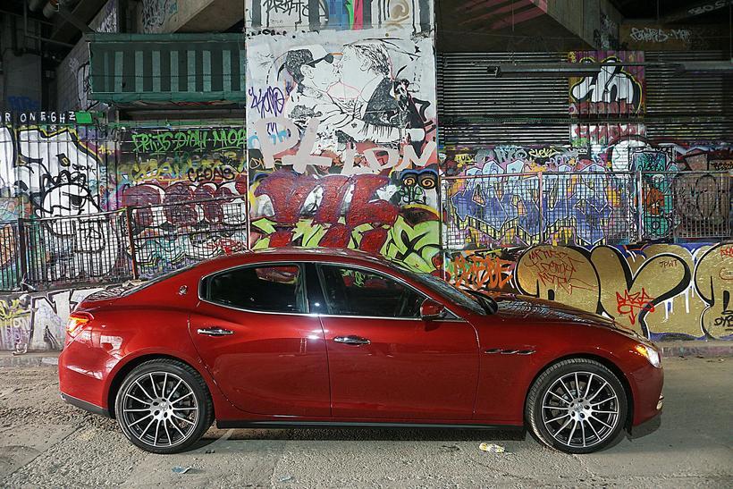 Sennilega er Maserati Ghibli fallegasti bíllinn í sínum stærðarflokki.