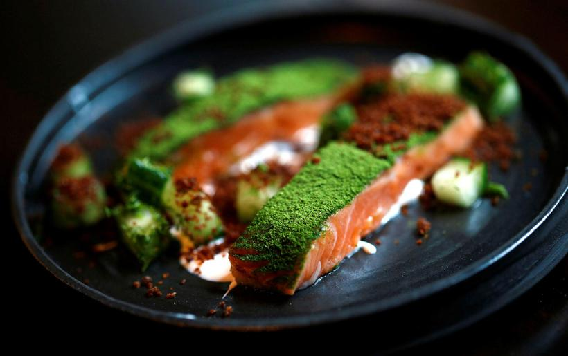 The menu at Dill is inspired by Nordic cuisine.