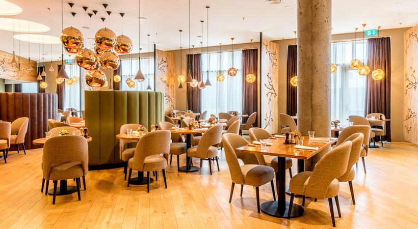 Haust restaurant opened last year inside Fosshótel in Borgartún, the ...