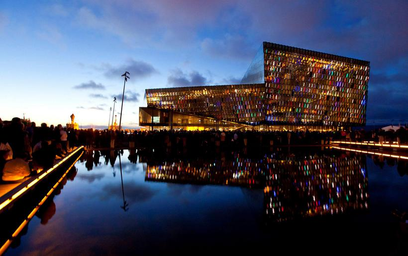 Harpa Concert Hall and Conference Centre.