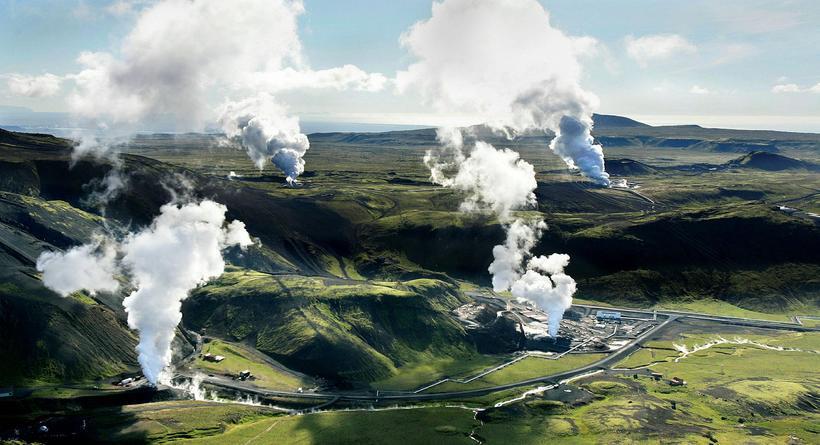 Hellisheiðarvirkjun.