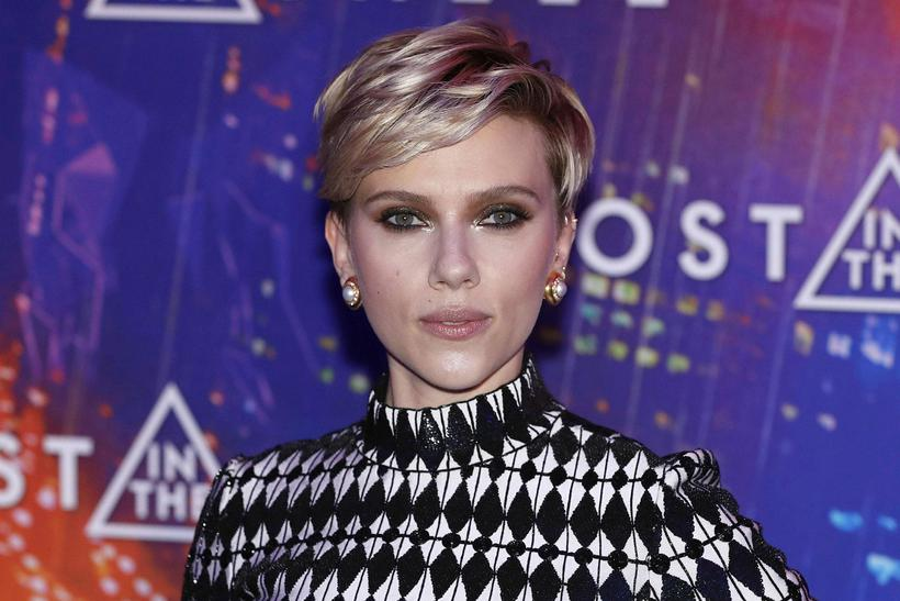 Scarlett Johansson er alla jafna með hliðarskiptingu.