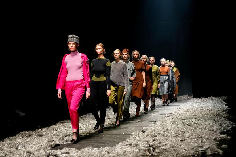 Reykjavik Fashion Festival took place in Harpa in the end ...